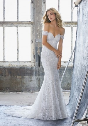 mori lee 8222 karissa off the shoulder fitted bridal gown 01 286