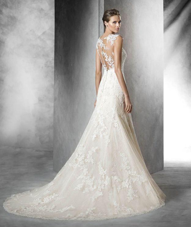 blush colored wedding dress to her with mermaid trumpet wedding dresses beautiful luiza od e kaac2b6lcsaac2b6nzasi