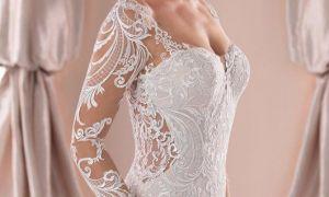 30 Beautiful Trying On Wedding Dresses