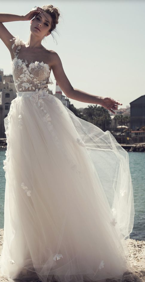 wedding gown price awesome glamorous one shoulder floral applique tulle skirt wedding dress