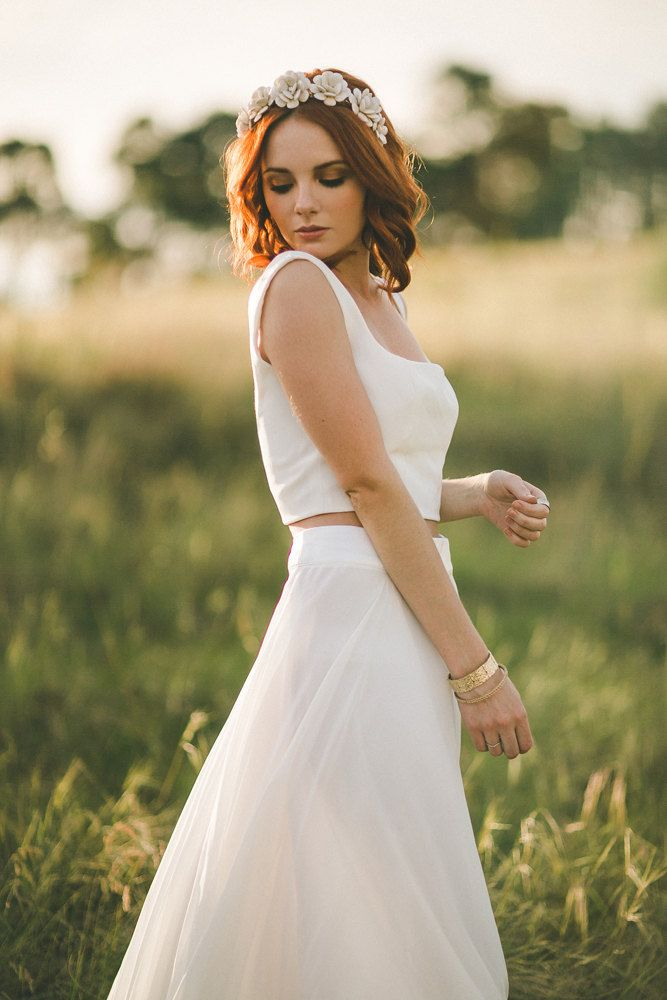 Two Piece Dresses for Wedding Awesome 20 Beautiful Boho Wedding Dresses
