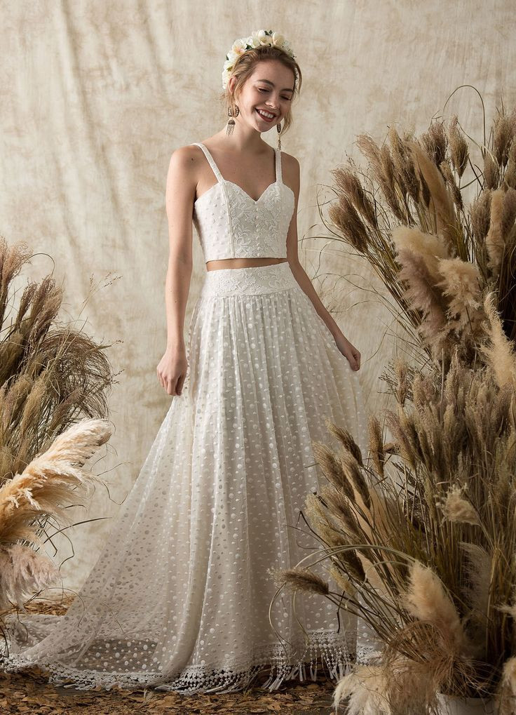 Two Piece Dresses for Wedding Inspirational Bohemian Wedding Rings Dreamers and Lovers Boho Lace Two