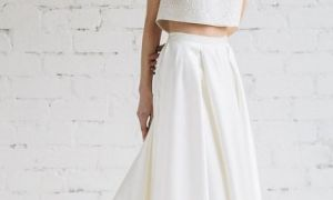 25 Luxury Two Piece Dresses for Wedding