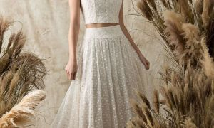 20 Awesome Two Piece Wedding Dresses
