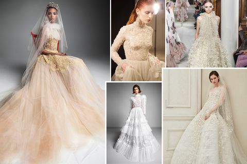 """Unique Lace Wedding Dresses Lovely Wedding Dress Trends 2019 the """"it"""" Bridal Trends Of 2019"""