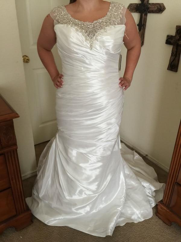 Used Plus Size Wedding Dresses Unique Nwt Maggie sottero Landyn Bridal Wedding Dress Gown Size 16 Plus Size Corset