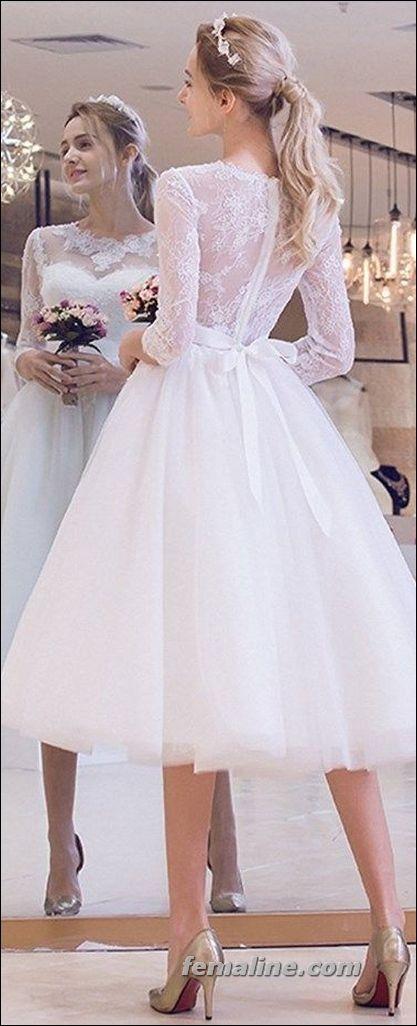 Vintage Knee Length Wedding Dresses Fresh 111 Elegant Tea Length Wedding Dresses Vintage