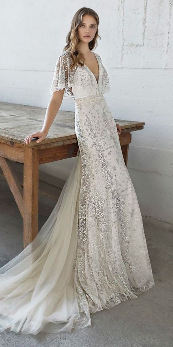 Vintage Wedding Dresses with Sleeves Lovely 24 Vintage Wedding Dresses 1920s You Never See
