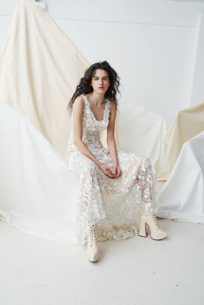 Bridal SS17 Couture 04A TheFloralEmbroideredAmberDress