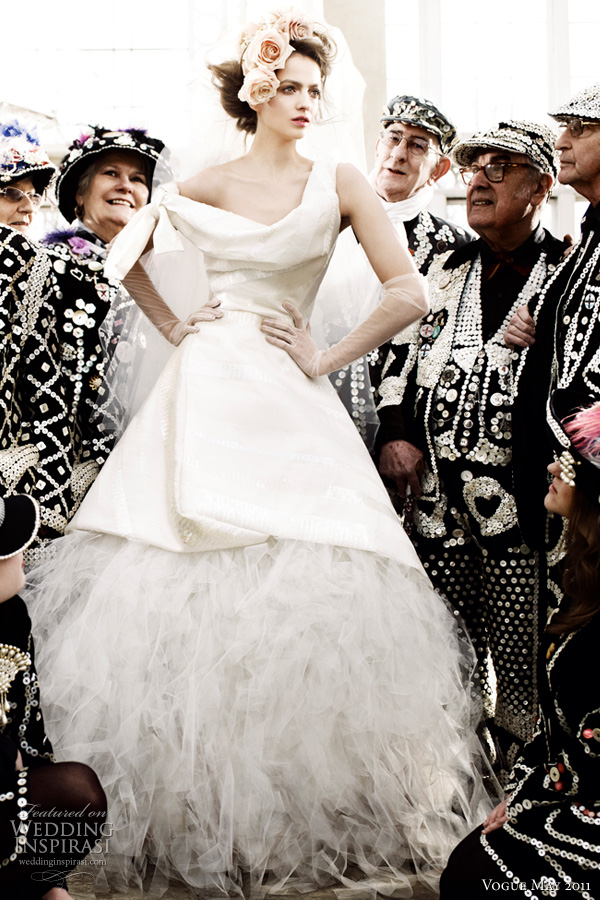 vivienne westwood wedding dress vogue