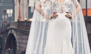 24 New Wedding Dress Cape