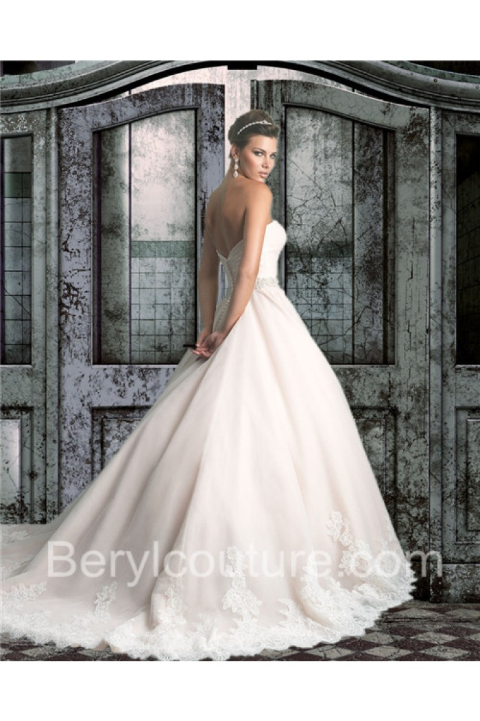 tulle ball gown wedding dress beautiful extremely simple ball gown strapless champagne colored tulle lace