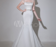 Wedding Dress Clearance Fresh Ivory F the Shoulder Satin Bridal Wedding Gown with