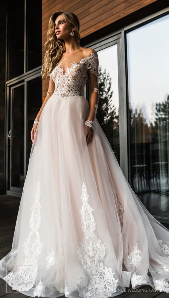 Wedding Dress Embellishment Beautiful Wedding Dress by Anna Campbell
