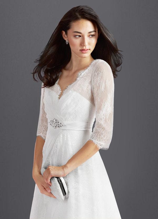 Wedding Dress for Petite Awesome Azazie Autumn Bg