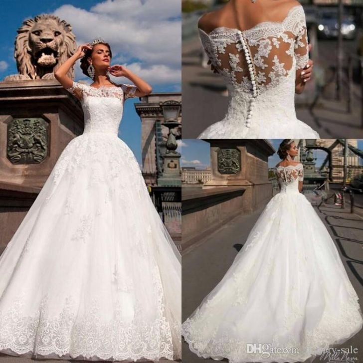 simple plus size wedding dress photo to her with long sleeve wedding dress photo into i pinimg 1200x 89 0d 05 890d 728x728