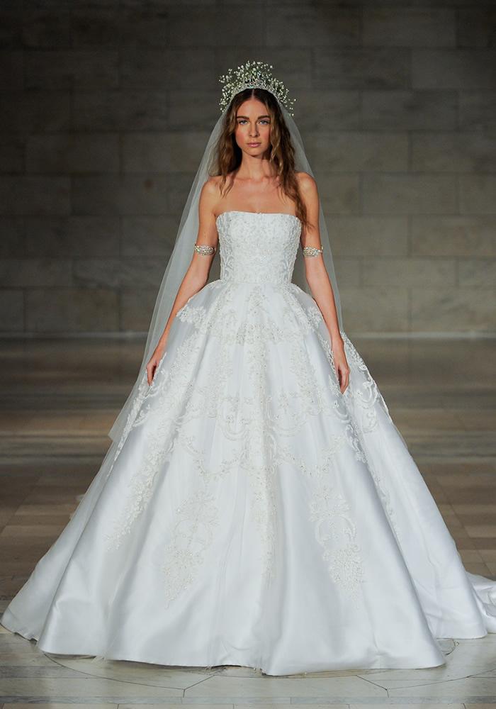Reem Acra ballgown2