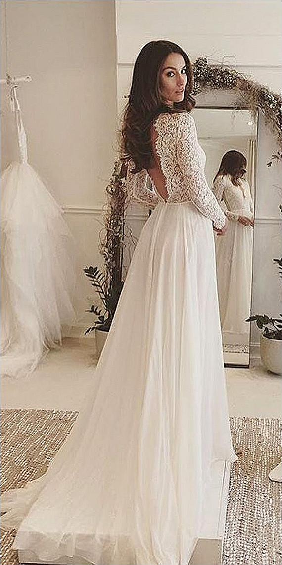 wedding dress 2017 beautiful wedding dresses for rustic wedding discount tea length vintage lace of wedding dress 2017
