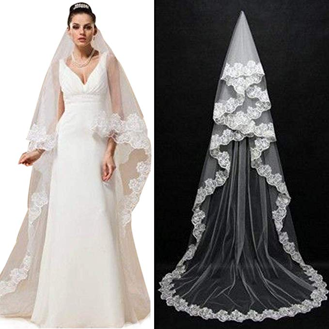 Wedding Dress Price Ranges Elegant Od Lover Wedding Dress Accessory Floral Lace Single Layer