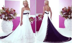 22 Elegant Wedding Dress Purple