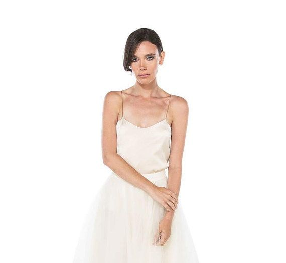 Wedding Dress Separates top Luxury Rps Silk Wedding Camisole Cami is Perfect for Brides and