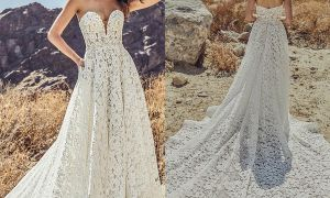 21 Elegant Wedding Dress Under 100