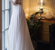 Wedding Dresses 2 Pieces Awesome 2 Pieces Long Sleeves Lace top Chiffon Long Wedding Dresses