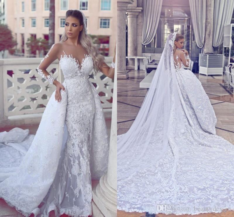 luxury mermaid wedding dresses 2017 newest