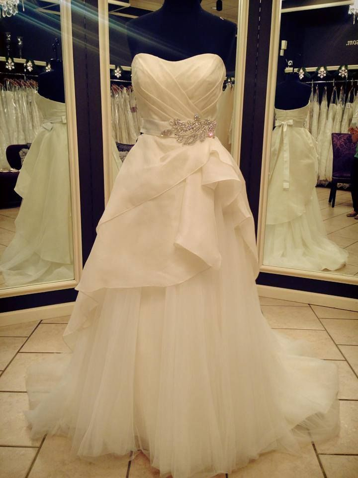 wedding gowns beverly hills fresh watters beverly hills size 6 luxe silk bodice with soft tulle and