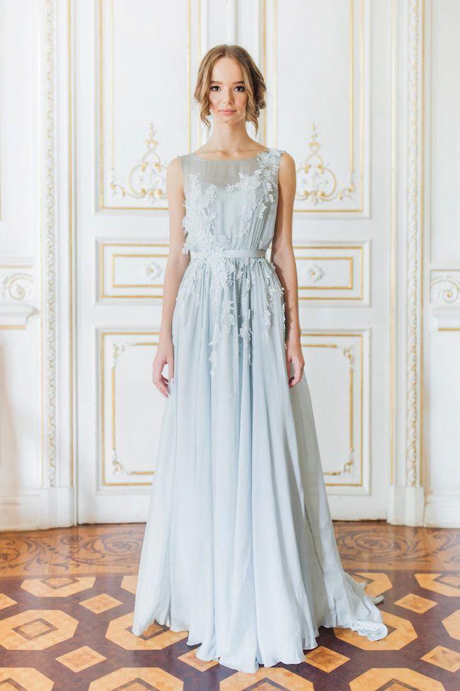Wedding Dresses Blue Luxury 15 Breathtaking Blue Wedding Dresses Blue & White