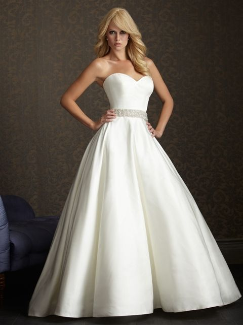 Wedding Dresses Boston Awesome Allure Exclusive Style 2502 Minus the Bow Detail This
