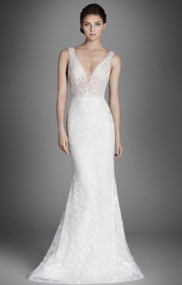 Wedding Dresses Boston Lovely Lazaro New Size 10