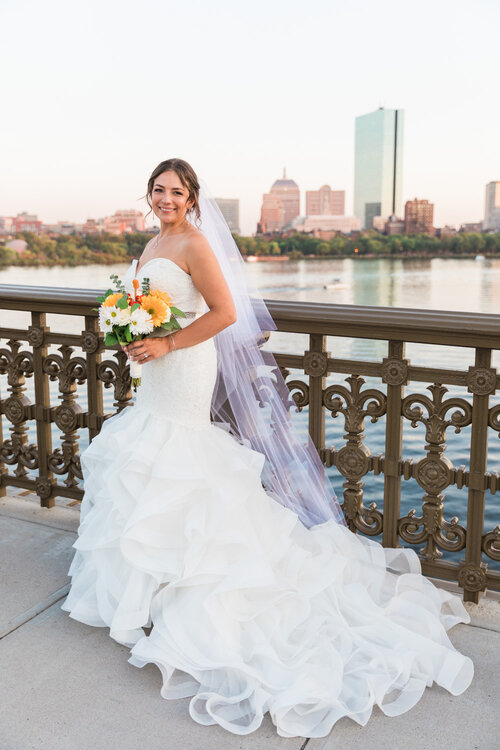 Longfellow Bridge Boston Wedding