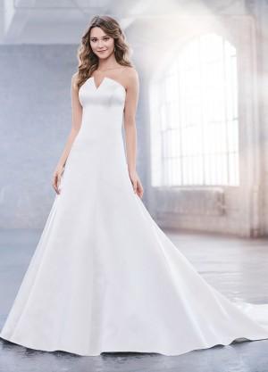 martin thornburg stn joni marie strapless wedding dress 01 698