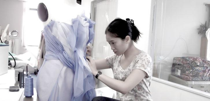 tailor made wedding dress hong kong