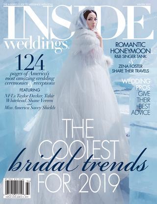 Wedding Dresses Cincinnati Ohio Awesome Inside Weddings Winter 2019 by Inside Weddings issuu