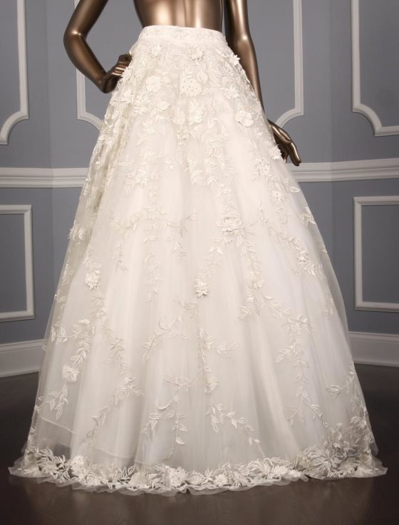 Carmen Marc Valvo Georgina C Wedding Skirt 560x737