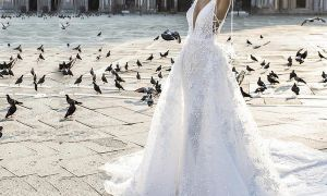 20 Fresh Wedding Dresses Feather