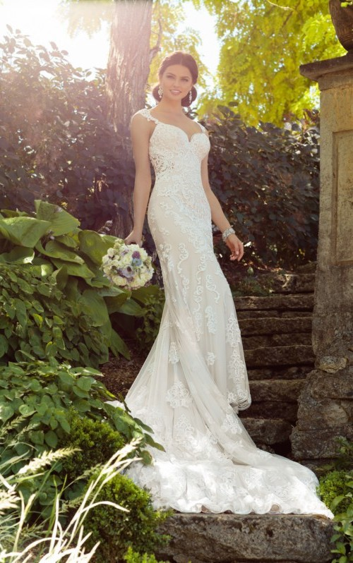 Wedding Dresses Fit and Flare Awesome Fit & Flare Wedding Dress Sale