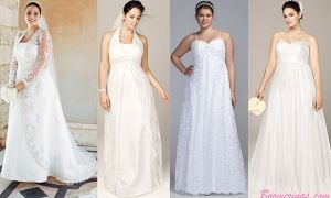 28 Luxury Wedding Dresses for Apple Shape