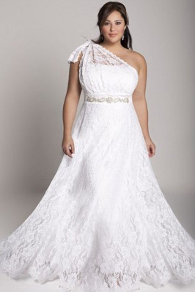 large Fustany Fashion Weddings How to Hide Belly Fat with Your Wedding Dress 8