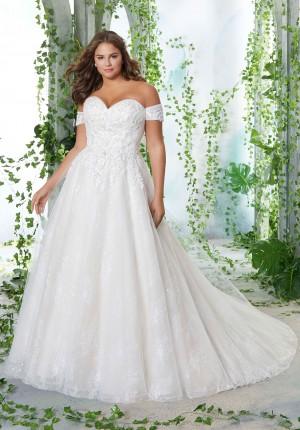 mori lee 3252 petunia strapless plus size bridal gown 01 578