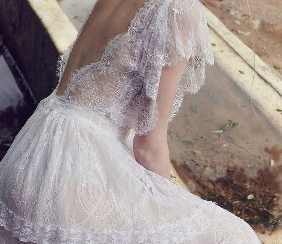 Wedding Dresses for Eloping Unique Romantic Vintage Wedding Dress Costarellos Bridal
