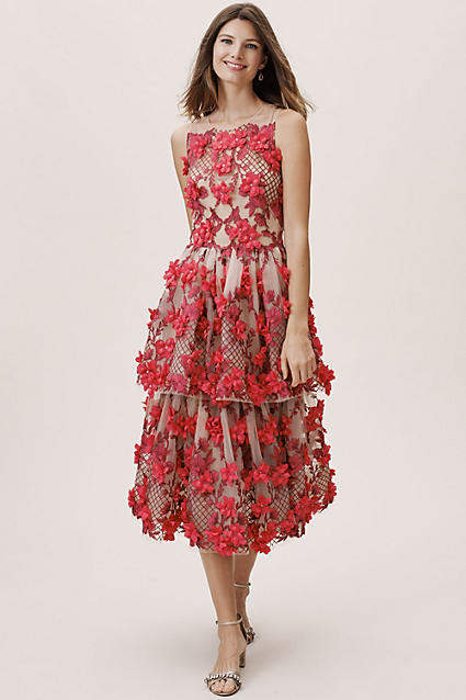 Marchesa Adrie Wedding Guest Dress