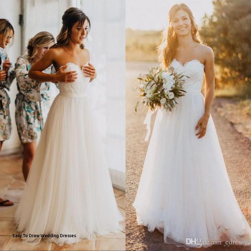 lace beach wedding dress luxury easy to draw wedding dresses i pinimg 1200x 89 0d 05 890d