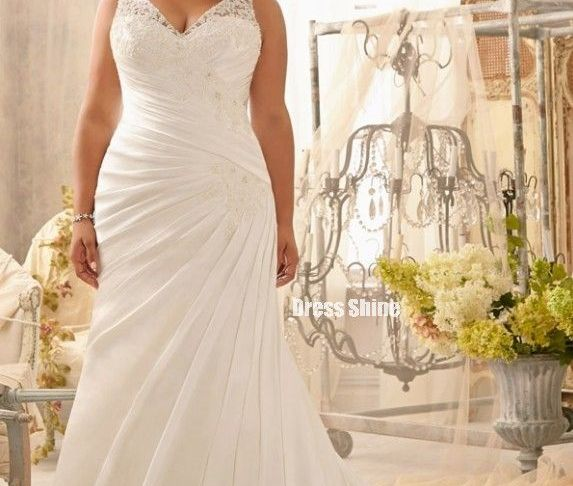 Wedding Dresses for Large Women Luxury Beautiful Second Wedding Dress for Plus Size Bride