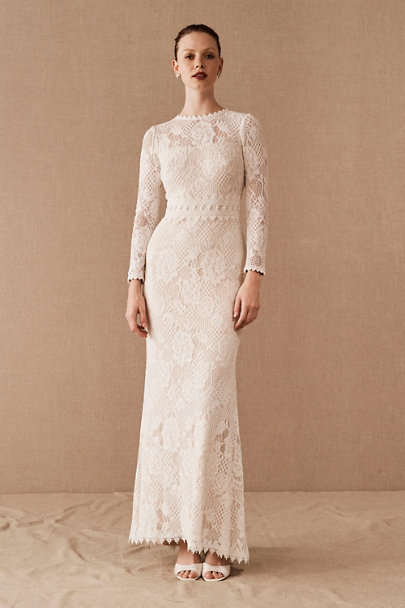Wedding Dresses for Larger Busts Awesome Tadashi Shoji Tenley Gown