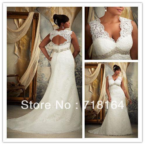 Wedding Dresses for Larger Busts Best Of Vintage Elegant Open Back Lace Plus Size Wedding Dress 2017