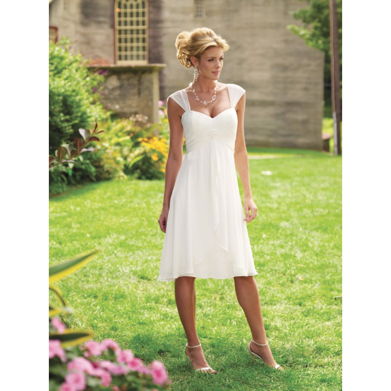 casual second wedding dresses 1 5189