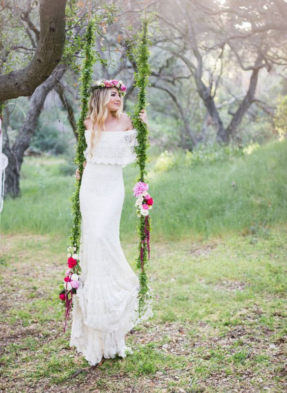 Wedding Dresses for Outdoor Weddings Fresh 30 Wedding Reception Décor Swing Ideas